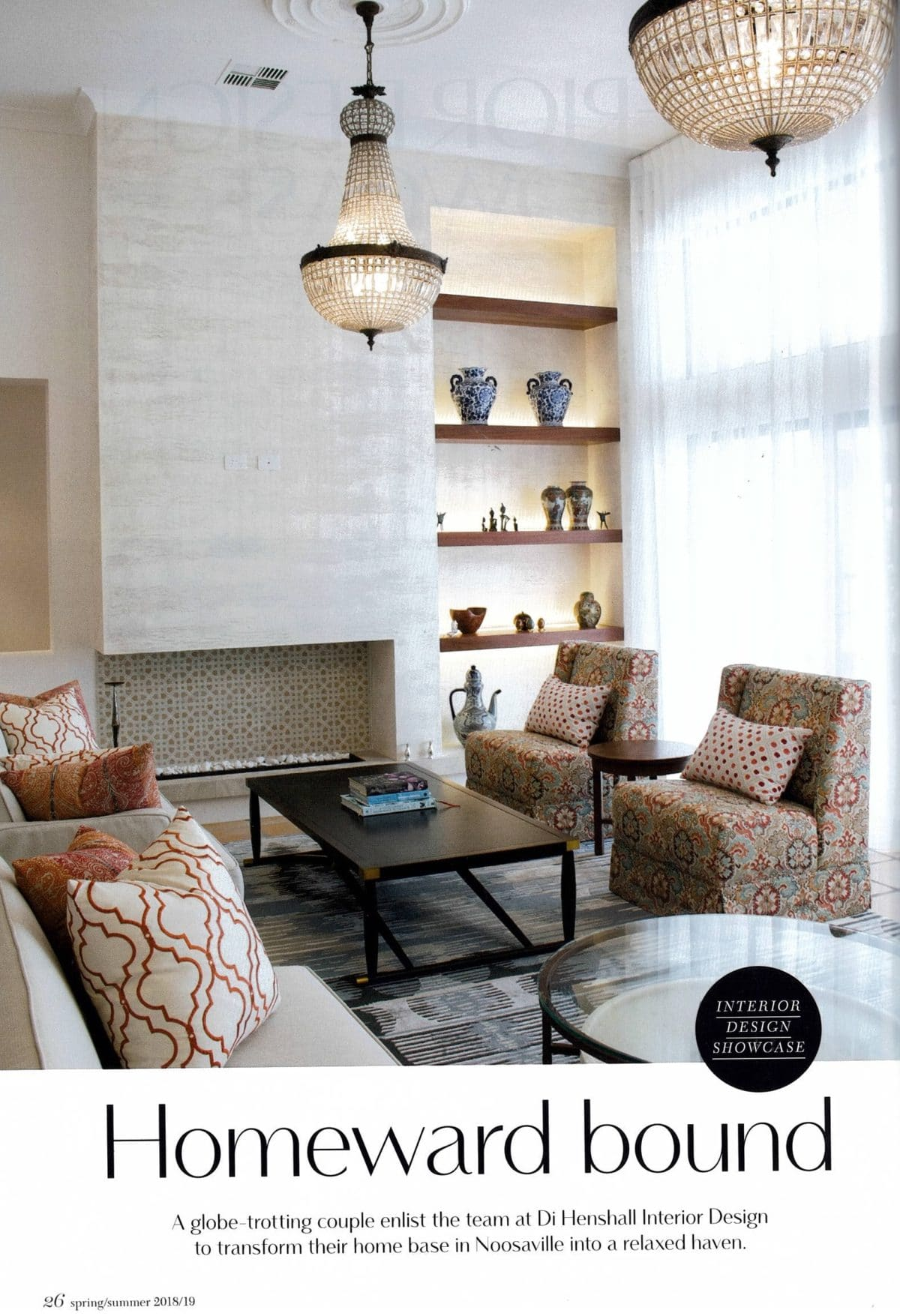 Homeward bound queensland homes spring summer 2018 for Siti di interior design